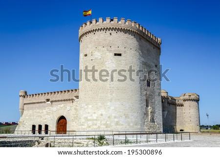 Castle of Arevalo in Avila, Castilla y Leon, Spain  - stock photo