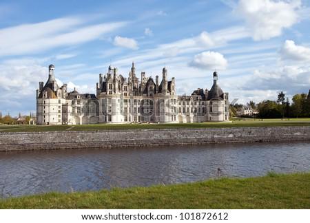 castle of Chambord, France - stock photo