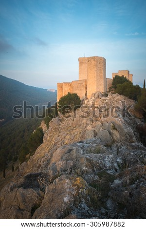 Castle of Jaen, Andalusia, Spain.
