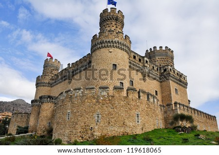 Castle of Manzanares el Real, Madrid (Spain)