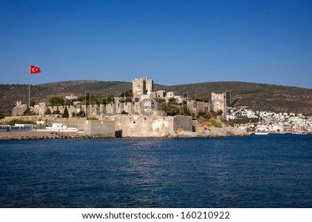 Castle of Saint Peter. Bodrum, Halicarnas, Western Turkey.