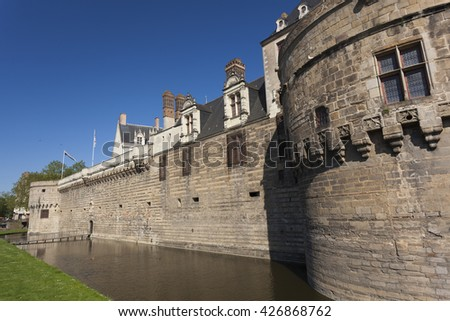 Castle of the Dukes of Brittany, Nantes, Pays de la Loire, France