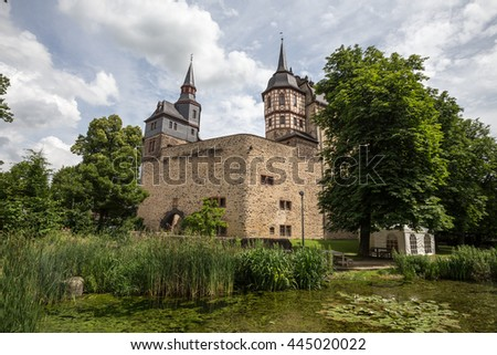 castle romrod hessen germany