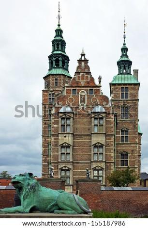 Castle Rosenborg Slot, Copenhagen, Denmark. - stock photo