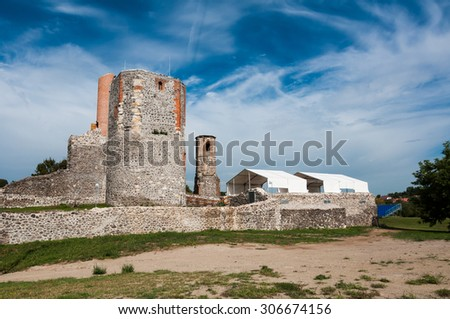 Castle ruins of Kisnana, Hungary