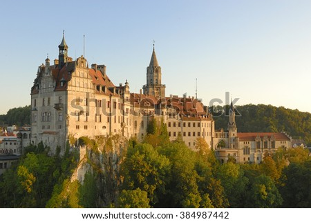 Castle Sigmaringen, Germany - stock photo