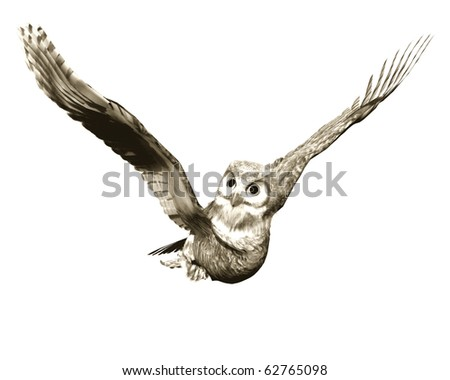 casual flight in news paper effect - stock photo