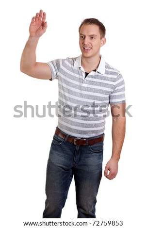 Casual Man - stock photo