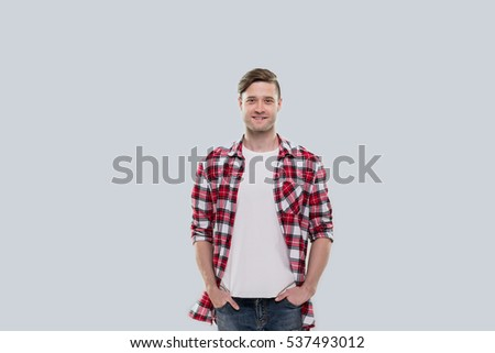 how to wear a checked shirt male