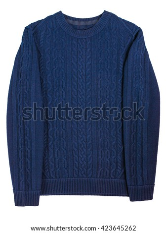 casual men's sweater