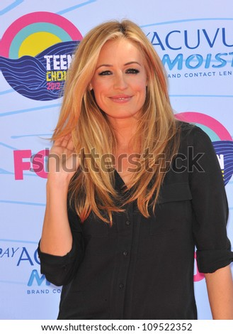 Cat Deeley at the 2012 Teen Choice Awards at the Gibson Amphitheatre, Universal City. July 23, 2012  Los Angeles, CA Picture: Paul Smith / Featureflash