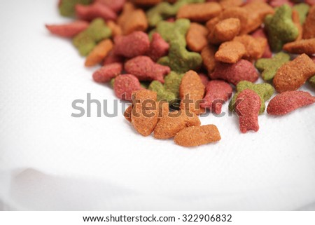 Cat Food - stock photo