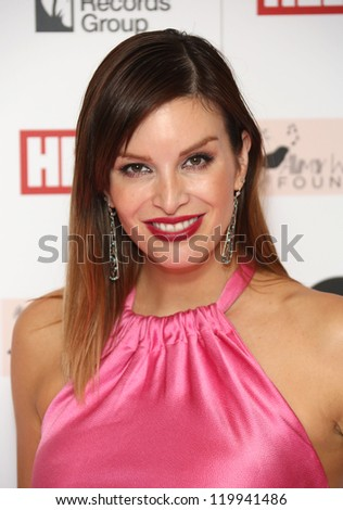 Catalina Guirado arriving at the The Amy Winehouse foundation ball held at the Dorchester hotel, London. 20/11/2012 Picture by: Henry Harris - stock photo