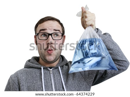catch of the day - stock photo