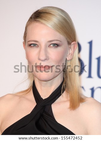 Cate Blanchett arriving for the Blue Jasmine UK Premiere, at Odeon West End, London. 17/09/2013 - stock photo