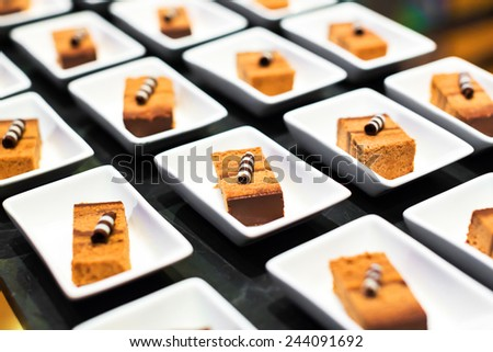 catering sweets - stock photo