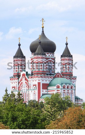 cathedral - stock photo