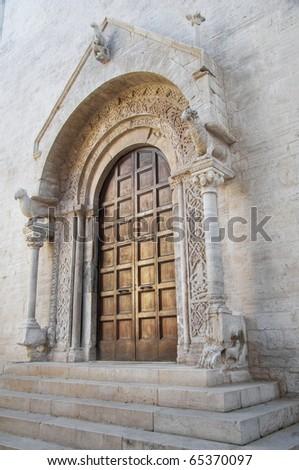 Cathedral. Bisceglie. Apulia. - stock photo