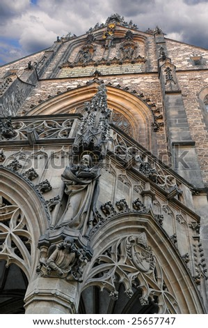 Cathedral in Brno (Czech Republic) - stock photo