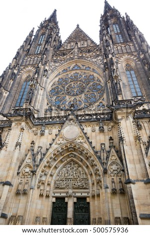 Cathedral in Prague, Czech Republic