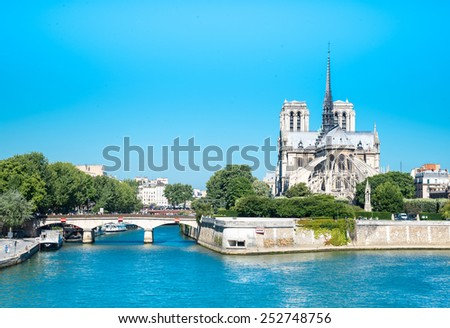 Cathedral Notre Dame Reims Champagne, Paris France - stock photo