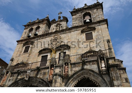cathedral of Braga in Portugal