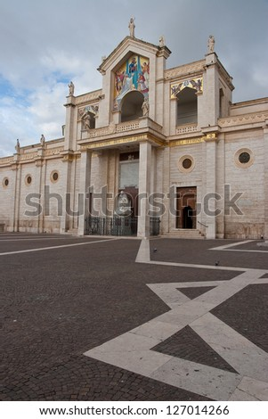 Cathedral of Manfredonia, Puglia, Italy