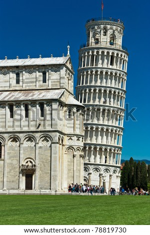 Cathedral of Pisa and Leaning Tower, Romanesque architecture in Tuscany