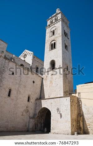 Cathedral of St. Maria Maggiore. Barletta. Apulia. - stock photo