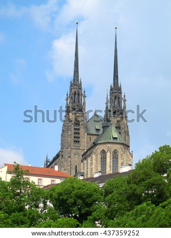 Cathedral of St. Peter and Paul (Petrov), Brno city (Czech Republic)