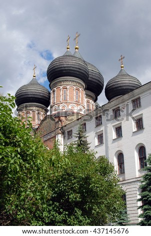 Cathedral of the Blessed Virgin Mary in Izmailovo, Moscow, Russia.