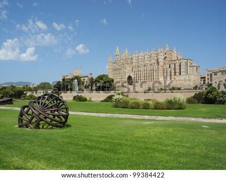 Cathedral Palma de Mallorca, Spain - stock photo