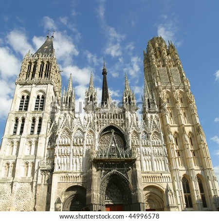 Cathedrale De Notre Dame De Paris. - stock photo