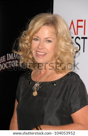 """Catherine Hicks  at the AFI Fest Gala Screening of """"The Imaginarium of Dr. Parnassus,"""" Chinese Theater, Hollywood, CA. 11-02-09 - stock photo"""