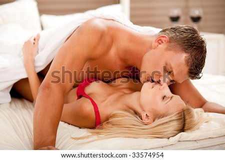 Caught in the act - stock photo