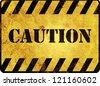 Caution Warning Sign - stock photo