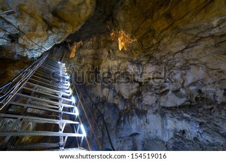 Cave - stock photo