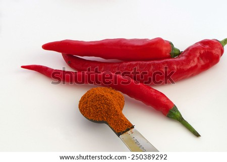 Cayenne Pepper - stock photo