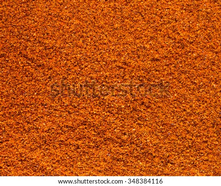 Cayenne pepper background - stock photo