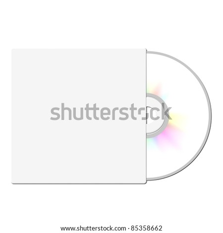 CD case - stock photo