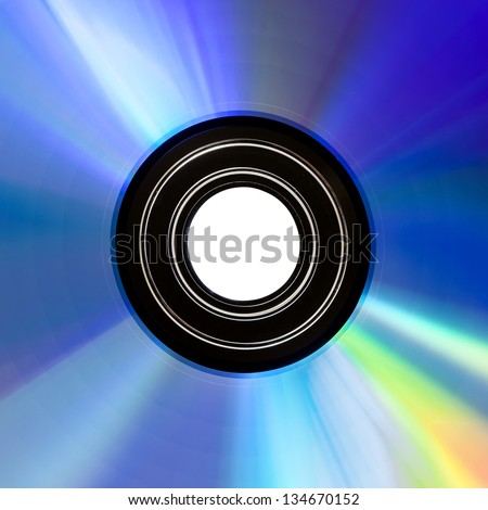 CD disk detail background - stock photo