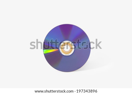 cd dvd compact disk - stock photo