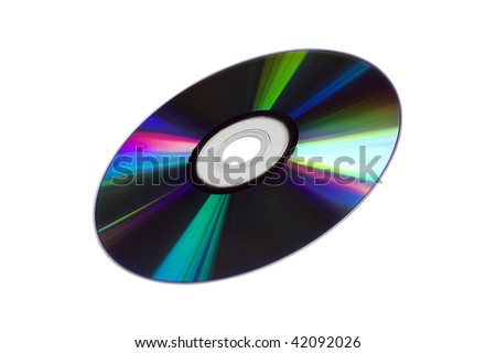 CD/DVD Disk - stock photo
