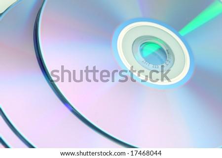 cd technology background - stock photo