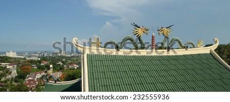 Cebu Taoist Temple Cebu.Taoist Temple  - stock photo