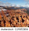 Cedar Breaks in autumn season - stock photo