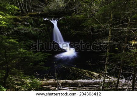 Cedar Creek Waterfalls - stock photo