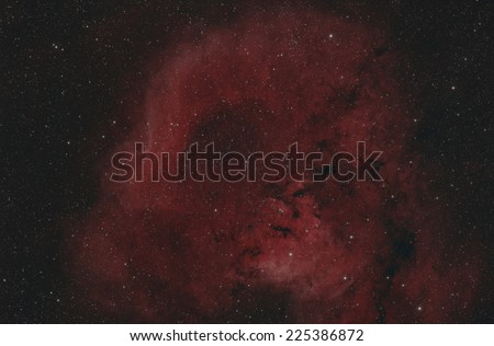 Cederblad 214, a reflection nebula in Cepheus imaged in narrow band - stock photo