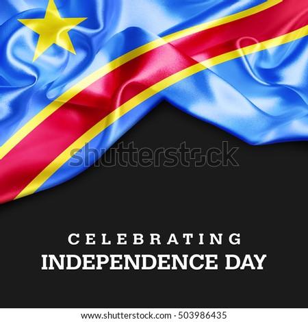 Celebrating Democratic Republic Congo Independence Day Stock - Congo independence day