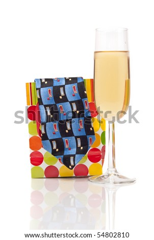 Celebrating Father's Day - stock photo